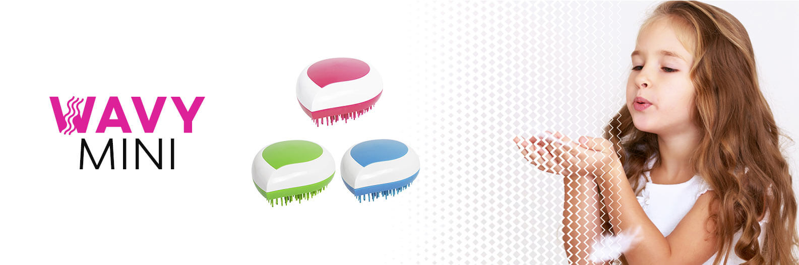 wavy brush mini - cepillo desenredante