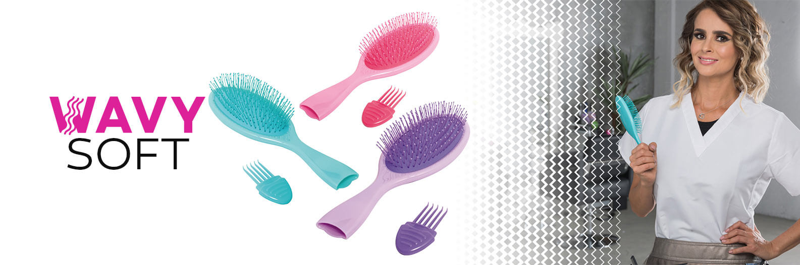 wavy brush soft - cepillo desenredante